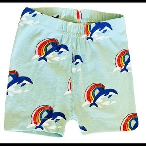 Hanna Andersson Rainbow Dolphins Shorts